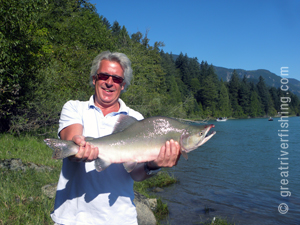 Pink Salmon Fishing