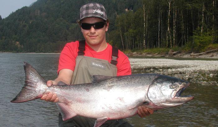 Fraser river fishing great river fishing adventures for Fraser river fishing