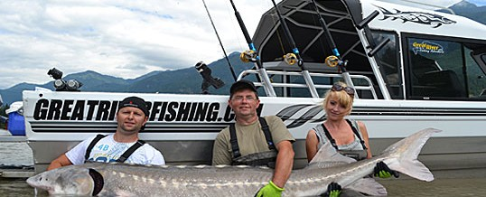 Fraser River Report for Chilliwack near Vancouver British Columbia