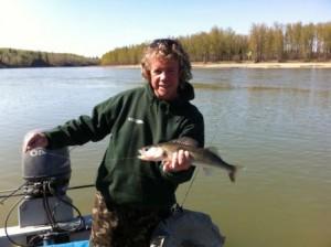 Fishing, Edmonton, Alberta, Keith Rae, Fishing trips, North Saskatchewan River