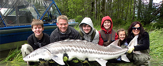 Fraser River Fishing Report for the Vancouver and Fraser Valley June 26