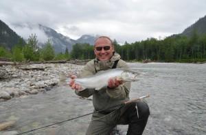 Fly Fishing, Sea Run Dolly Varden, Vancouver, Fishing, Pitt River, Maple Ridge