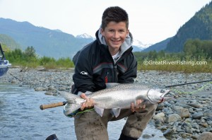 Pitt River Trout Fishing