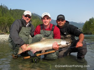 Pitt River Salmon Fishing
