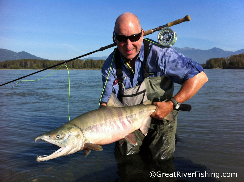 Fishing report vancouver fraser valley 13 10 12 for Fraser river fishing