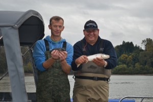 Double Header on the Fraser River