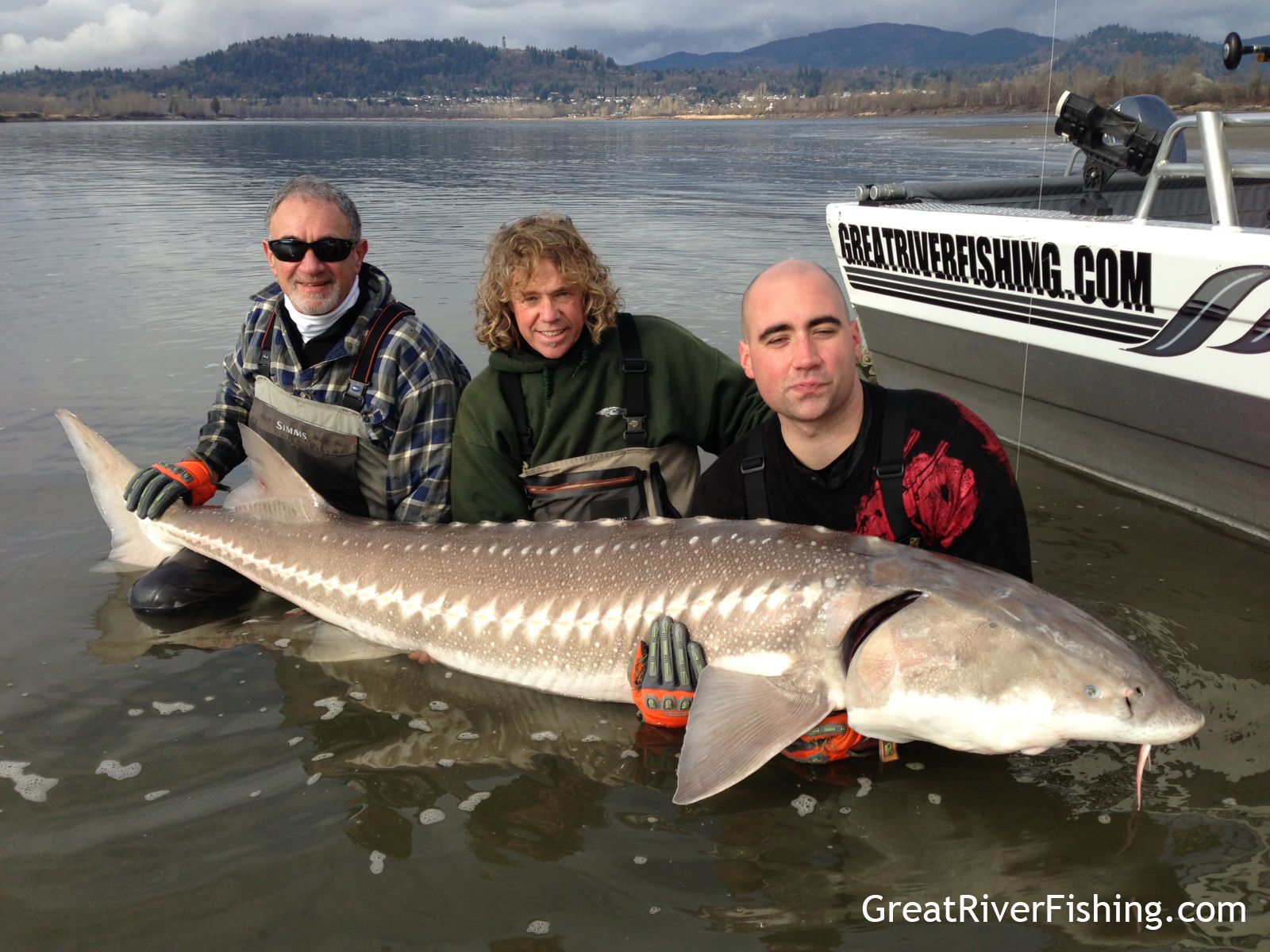 Fishing report vancouver fraser valley 20 02 13 for Sturgeon fishing report