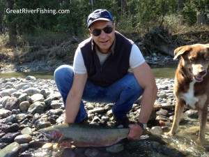 steelhead fishing on the Vedder River