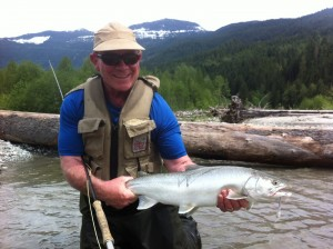 Pitt River Fly-fishing