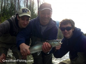 Trout Fishing on the the Harrison