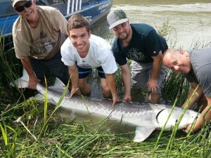 Sturgeon Fishing on the Fraser River