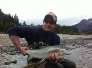 Pitt River Trout Flyfishing