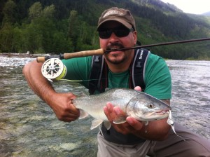 Flyfishing on the Upper Pitt River