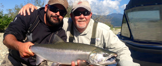 Fishing Report for Chilliwack to Vancouver – October 2, 2014