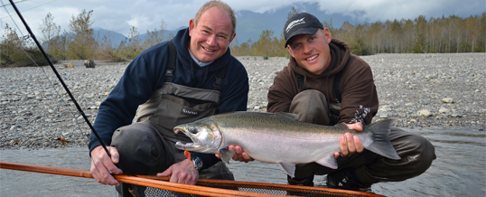 Fishing Report for Chilliwack to Vancouver – October 15, 2015