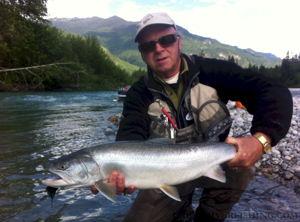 Fishing report for chilliwack to vancouver june 4 2017 for Washington river fishing reports