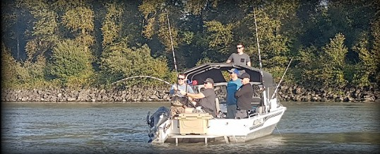 Fishing Report for Chilliwack to Vancouver – September 29, 2021